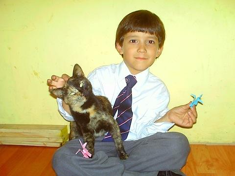 5407-5408 Je, su hijo y su mascota